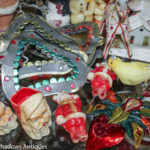 Vintage Christmas ornaments, items